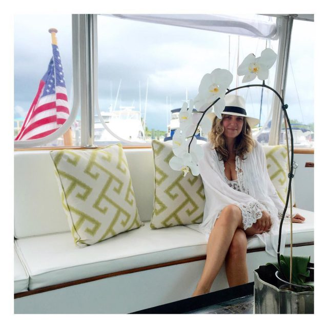 Setting sail with Tiffany wearing the latest resort collection ttbeachhellip